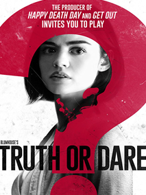 truth or dare lucy hale Hale Pretty Little Liars Tyler Pose aaron goffman prop property master blumhouse